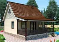 Строительство дачного дома в Тольятти