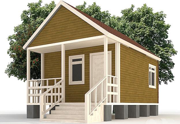 Cтоимость строительства дачного дома