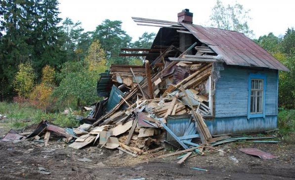 Демонтаж-снос дачных домов