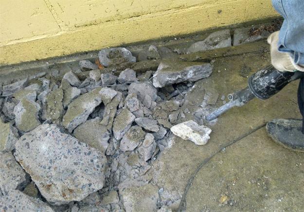 Демонтаж бетона в Тольятти