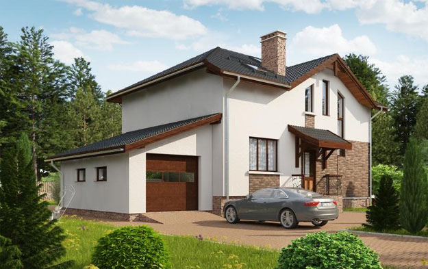 Дом из газосиликатных блоков в Тольятти