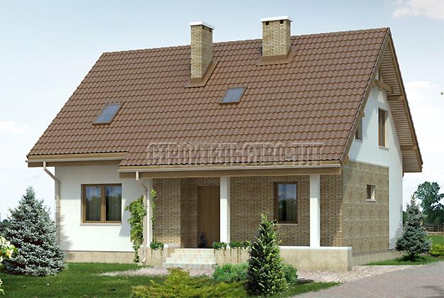 Проектирование жилых домов, коттеджей, бань и дач