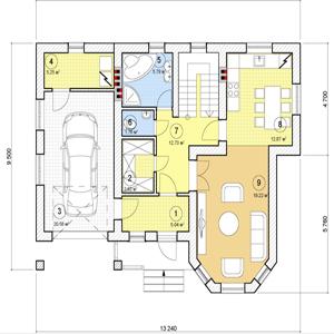 План дома-370