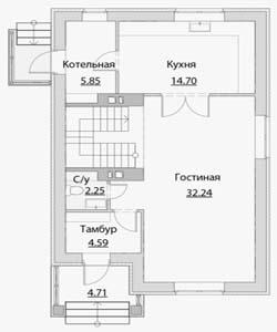 План дома-372