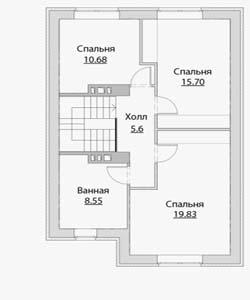План дома-371