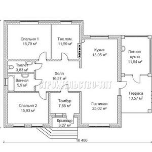 План дома-375