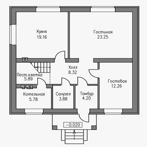 План дома-378