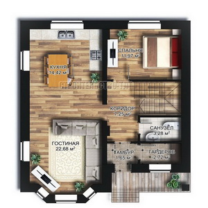 План дома-383