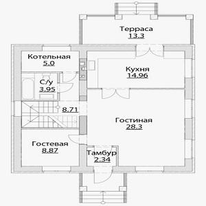 План дома-346