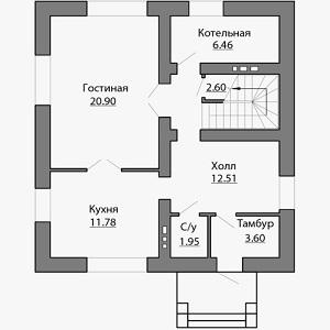 План дома-393