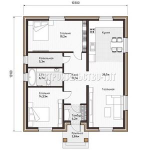 План дома-394