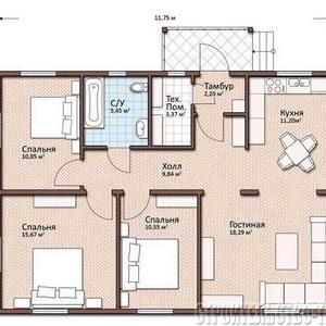 План дома-395