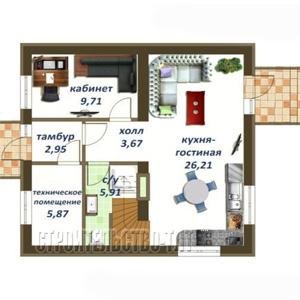 План дома-396