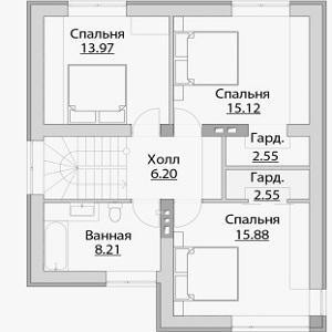 План дома-398