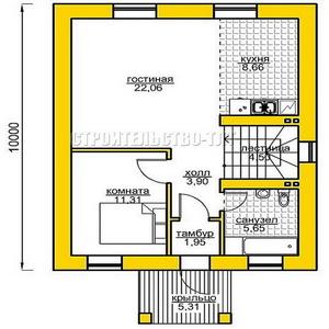 План дома-399.12
