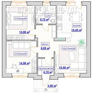 План дома-399.4