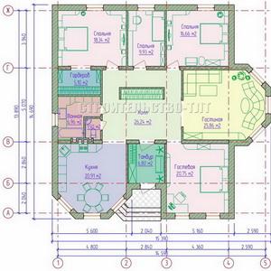 План дома-399.5