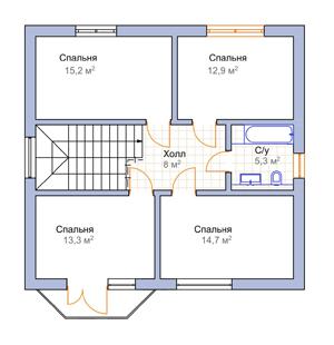 План дома-399.6