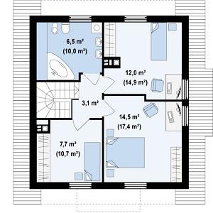 План дома-399.7