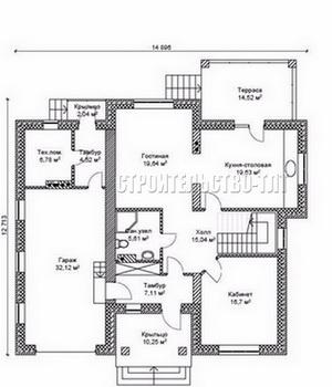 План дома-399.8