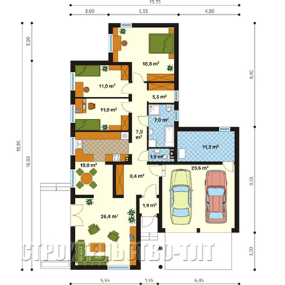 План дома-399.10