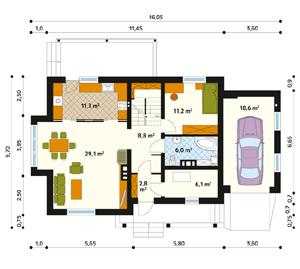 План дома-302