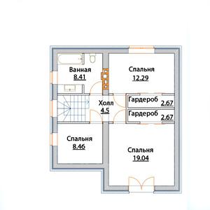 План дома-343
