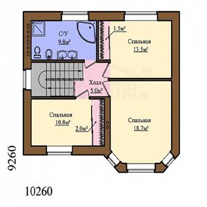 План дома-348