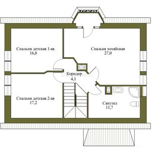 План дома-351