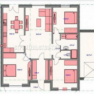 План дома-354