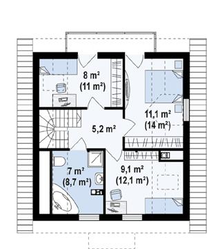 План дома-363