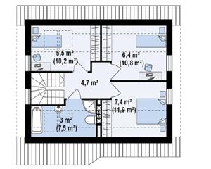 План дома-366