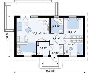 План дома-367