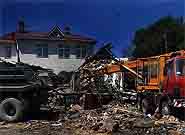 Демонтаж - снос зданий