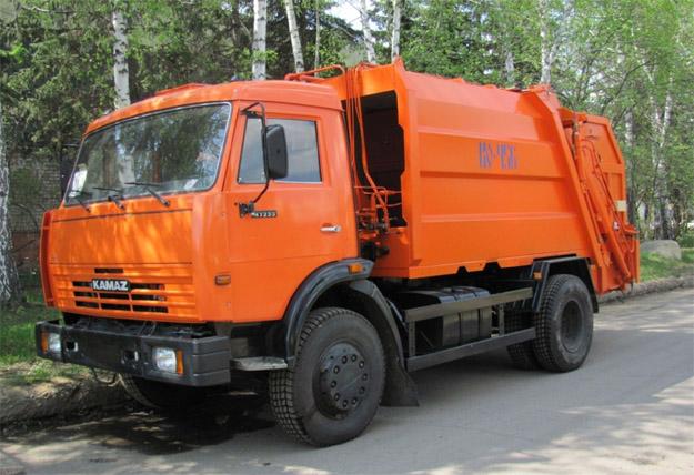 Возят мусор в Тольятти