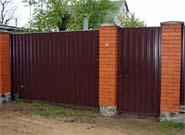 Забор комбинированный в Тольятти